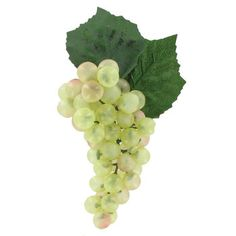 Green Faux Grape Cluster - 51 Grapes