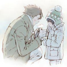 Image about psycho pass in Watashi wa otaku by Yukino Miyazawa Anime Bebe, Anime W, Kawaii Anime, Ginoza Nobuchika, Cute Couple Drawings, Anime Family, Psycho Pass, Anime Child, Manga Boy