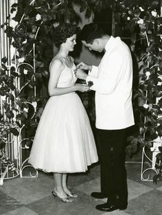"""Pinning the Corsage"""