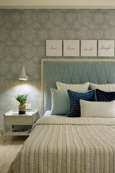 Bedroom Design Ideas – Create Your Own Private Sanctuary Bed Headboard Design, Room Design Bedroom, Bedroom Furniture Design, Room Ideas Bedroom, Home Decor Bedroom, Bedroom Designs, Bed Designs, Bedroom Colors, Bed Room