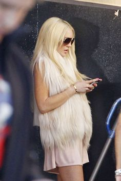 Okay... Now Lindsay Lohan might have something going for her with this look! Shocked!