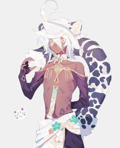 由 10R🍏 (@10rXXXjamberry) | Twitter 提供的媒体推文 Fantasy Character Design, Character Design Inspiration, Character Concept, Character Art, Fantasy Characters, Anime Characters, Anime Animals, Cute Anime Guys, Anime Fantasy