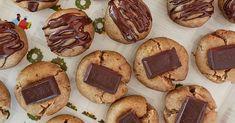 "Recipe: Chocolate Peanut Butter ""Cookie"" Bites (Vegan, Oil-Free, Refined Sugar Free) – Krocks In the Kitchen Vegan Chocolate Bars, Chocolate Peanut Butter Cookies, Chocolate Peanuts, Chocolate Recipes, Whole Food Recipes, Cookie Recipes, Sweet Peanuts, Nice Cream, Creamy Peanut Butter"