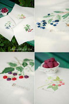 Bramble, Raspberry, Blueberry (Kazuko Aoki) by loretoidas, via Flickr