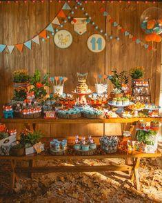 Baby Shower Boy Cake Animals Birthday Parties 70 Ideas For 2019 Baby Shower Cakes For Boys, Baby Shower Decorations For Boys, Boy Baby Shower Themes, Baby Boy Shower, Fox Party, Baby Party, Woodland Theme, Woodland Party, Woodland Animals