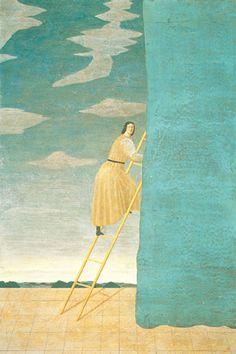 'Music' by Toshio Arimoto Exotic Art, Unusual Art, Japanese Drawings, Japanese Art, Creative Illustration, Art And Illustration, Kitty Crowther, Figurative Kunst, Ap Art