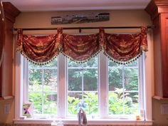 Federal Valances,pole mounted | Flickr - Photo Sharing!