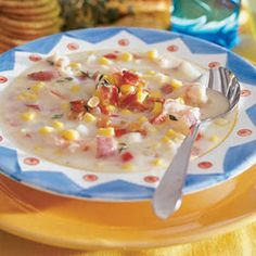 Hearty Shrimp and Corn Chowder