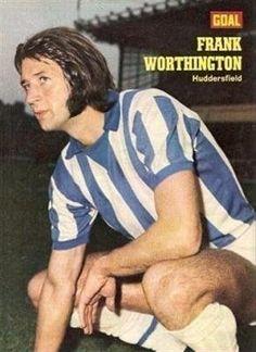 GOAL magazine Huddersfield Town FRANK WORTHINGTON old football picture Frank Worthington, Huddersfield Town, Football Pictures, Goals, Terriers, Places, Magazines, Mens Tops, Google Search