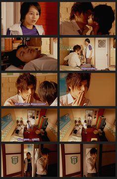 The kiss moster strikes again. #Hana Kimi #japanese #jdrama Hanazakari No Kimitachi E, Shun Oguri, Taiwan Drama, Japanese Drama, Host Club, Picture Story, Drama Movies, You Are Beautiful, Tv Series