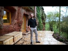 Modern Caveman: Man Builds A $230,000 House In 700-Year-Old Cave - YouTube