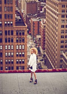 Harper's Bazaar Turkey has been in New York to shoot their cover story.
