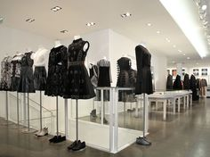 While Colette's first floor is often overrun with tourists rifling through their street wear and (admittedly excellent) stash of coffee table books and doodads, their second floor is an oasis of Christopher Kane, Saint Laurent, and Anthony Vaccarello.