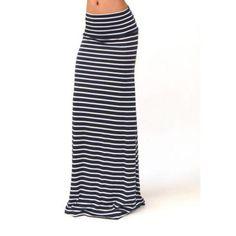 983dbd4662f JAYCOSIN 2018 Autumn Summer Women Long Skirt Chic Colorblock Striped Maxi  Skirts Full-length High