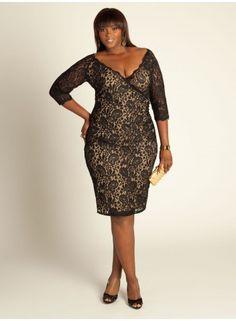 @Karin Gitchel, this Justine Black Lace Dress from Igigi would be KILLER on you!