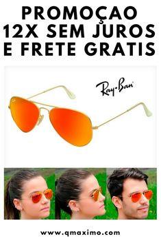 a9322d475b7aa ... Ray Ban Aviador 50%off + frete gratis · comprar oculos polarizado