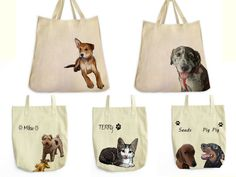 Customized Tote Bag from ToteTails.com