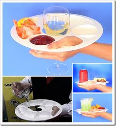Disposable entertaining plates w/wine glass can. Cup holder  sc 1 st  Pinterest & Round Appetizer Plates with Wine Glass Holder | Pinterest | Wine ...