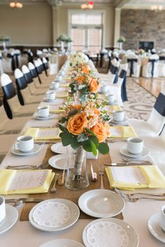 Family Style Head Table  Photo Credit: Fyrefly Photography