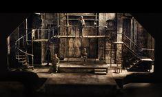 Sweeney Todd set design by Sean Fanning