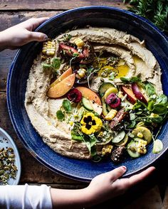 Word of Mouth presents a Farmer's Market Hummus, which I would happily swap my first born for. (not really, though he's at annoying stage, 21 where we the parents are idiots & he and his friends are bright, shiny novas.