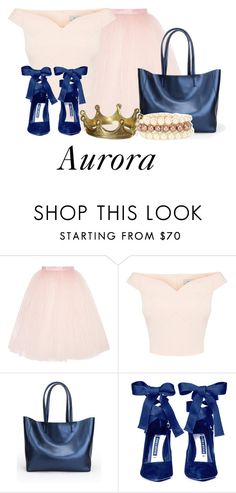 """""""Aurora"""" by beckthemermaid ❤ liked on Polyvore featuring Ballet Beautiful, Alice + Olivia and Oasis"""