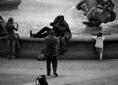 Trafalgar square, London, by PVillegas
