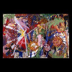 acrylics on canvas 1990