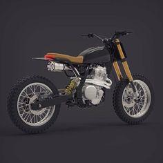 "989 Likes, 8 Comments - BikeBound (@bikeboundblog) on Instagram: ""So Rad: #NX650 Vintage Edition by @dab_design_, inspired by the original Honda Dominator.…"""