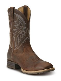 Mens Ariat Hybrid Rancher Boots 10014070 - Texas Boot Company is located in Bastrop, Texas. www.texasbootcompany.com
