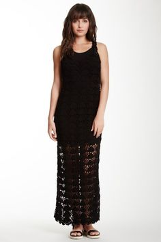 Lovers and Friends Gemma Crocheted Maxi Dress by Assorted on @HauteLook