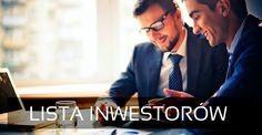 +70 Inwestorów dla Twojego biznesu Poszukujesz kapitału na realizację własnego przedsięwzięcia biznesowego? Nawiąż kontakt z Inwestorami udziałowymi. #finansowaniestartup #kapitałnastart #finansowaniestartupu #finansowaniebiznesu #inwestorudziałowy #funduszeseedcapital #inwestor #listainwestorow