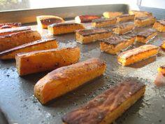 "Sweet Potato Baked ""Fries"""
