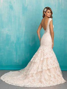 Allure Bridals 9311 // Spring 2016