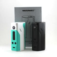 Introducing the New #WISMEC #Reuleaux #RX200 TC #Mod, the #ecig #BoxMod with 3 replaceable 18650 batteries. This unique design composed of three separate shells, produced in collaboration with the famous designer Jay Bo and the technology team from Wismec.