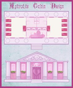 DR: Aphrodite Cabin Design by Marmarlade Percy Jackson Cabins, Percy Jackson Ships, Percy Jackson Quotes, Percy Jackson Fan Art, Percy Jackson Books, Percy Jackson Fandom, Magnus Chase, Percabeth, Solangelo