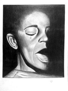 Negro - desenho a lápis