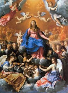 Alberto Durero Virgen en su Asunción a los Cielos.