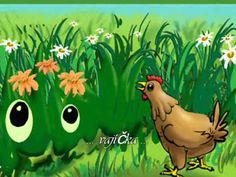♥♥♥ Vajíčka....Písničky pro děti ♥♥♥ Kids Songs, Coloring Books, Rooster, Crafts, Animals, Puzzles, Fictional Characters, Film, Youtube