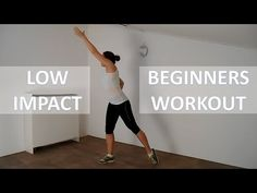 20 Minute Low Impact Workout For Beginners – Fat Burning Beginners Workout Routine - YouTube