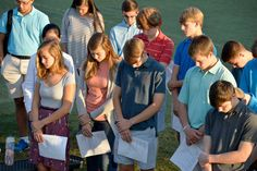 The Lower, Middle and Upper School students all participated in the national See You at the Pole prayer event on Wednesday, Sept. 28. Photos from the event were in The Augusta Chronicle.