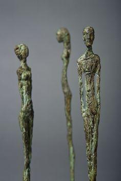 statuette bronze Vincent