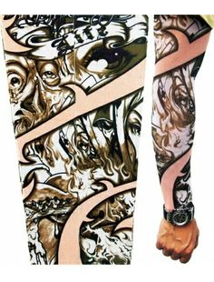 Sizzling hot, Soul on Fire Tattoo Sleeve  Tattoo Sleeves   Accesories   StringsAndMe