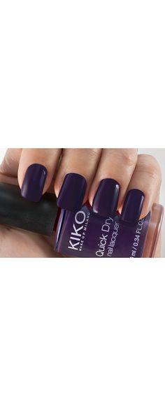 Verniz de secagem extra rápida: Quick Dry Nail Lacquer - KIKO MAKE UP MILANO