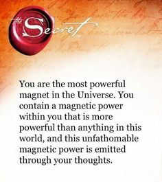 The Secret book, Affirmations, Law of attraction, manifestation Manifestation Law Of Attraction, Law Of Attraction Affirmations, Law Of Attraction Money, Law Of Attraction Quotes, Secret Quotes, Believe, The Secret Book, Reiki, Positive Affirmations