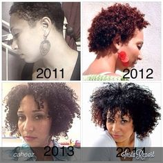 Be patient and don't give up! - Needed this inspiration! Short Natural Curls, Natural Hair Twa, Natural Hair Growth, Natural Hair Journey, Au Natural, Natural Beauty, Curly Hair Styles, Natural Hair Styles, Love Hair
