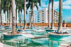 Four Seasons Hotel Miami Palms Hotel, Hotel Pool, Florida Hotels, Hotels And Resorts, Lagoon Park, Oasis Style, Miami Pool, Downtown Miami, Four Seasons Hotel