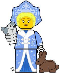 Legos, Lego Custom Minifigures, Lego Truck, Snow Maiden, Candyland, Scrapbooks, Bart Simpson, American Girl, Concept
