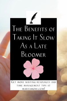 Life can pass you by, but there are good reasons to take it slow. Here are some of the benefits of being a late bloomer. #intentional #livingintentionally Comparing Yourself To Others, Finding Yourself, You Got Lucky, Time Management Strategies, Appreciate What You Have, Late Bloomer, Mindfulness Activities, How To Stop Procrastinating, Morning Person