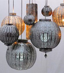 moroccan lanterns from KHMISSA Makuk Pendant lamp shades. Tin, brass, or copper shades crafted by hand. #light #handmade